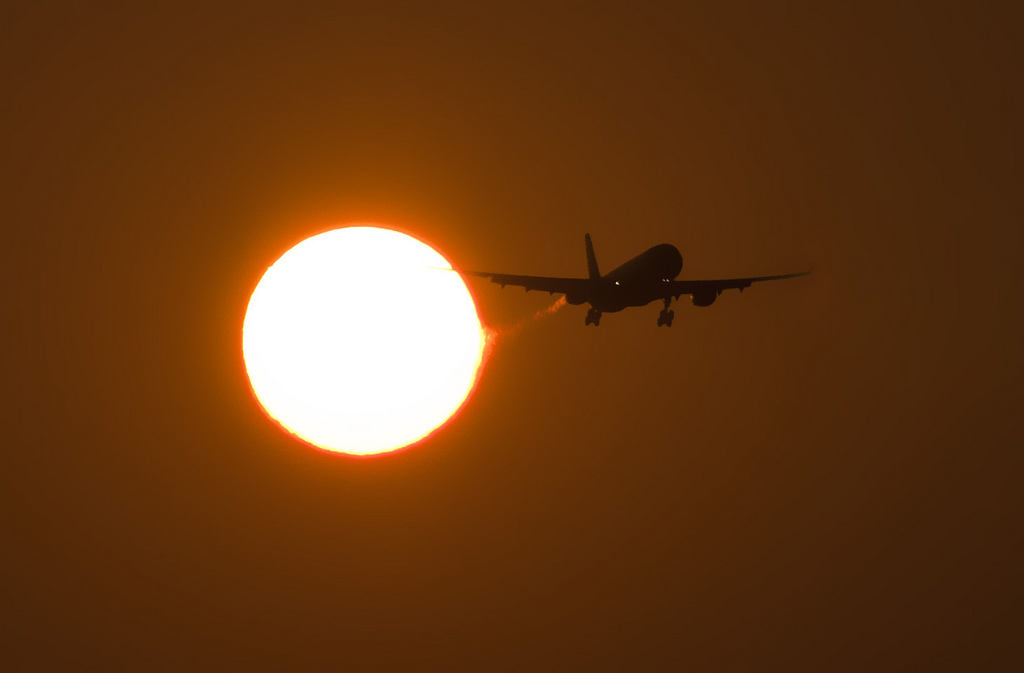 Solar Flares and Air Travel